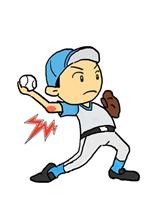 野球肘イメージ