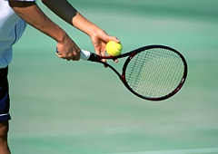 テニス肘イメージ